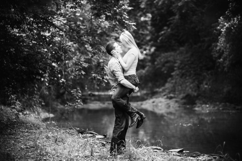 Hanover PA Engagement Photography at Lake Marburg