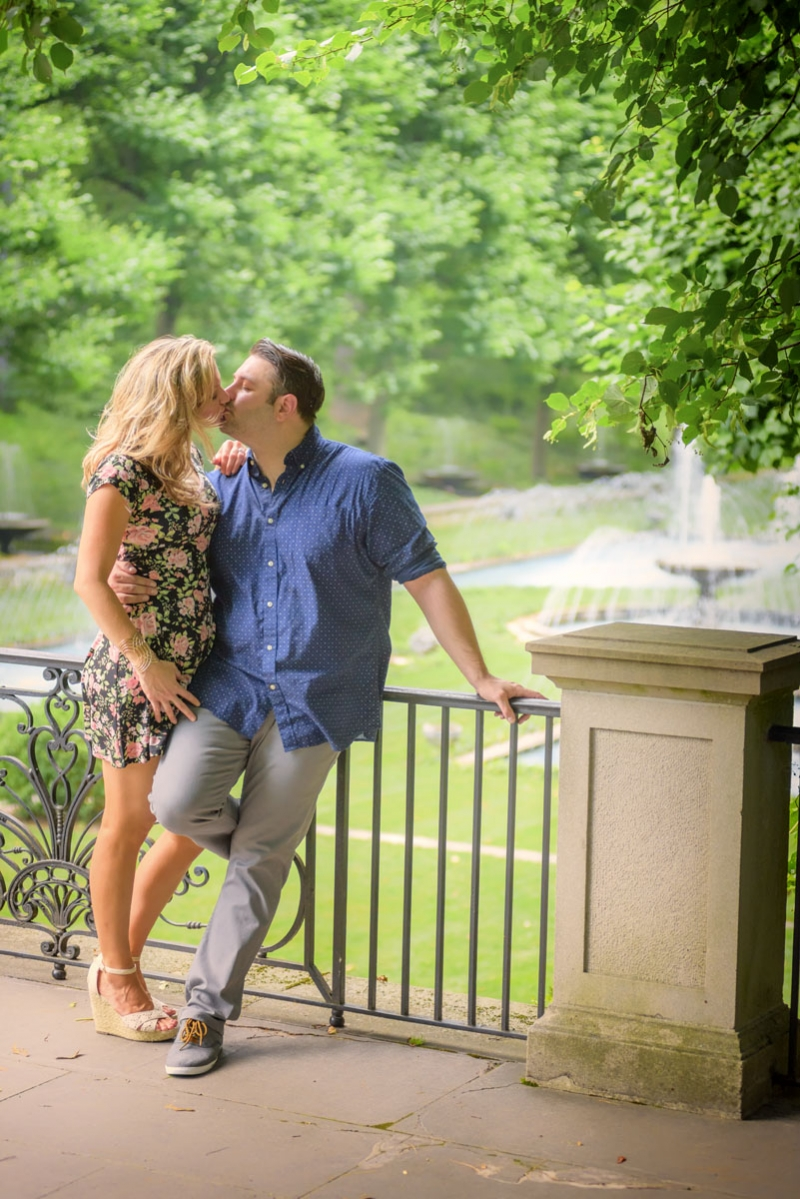 Longwood Gardens Engagement by Photographer Jim Coarse