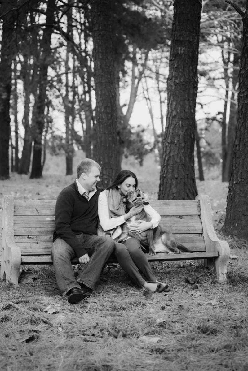 chester county pa engagement photographer
