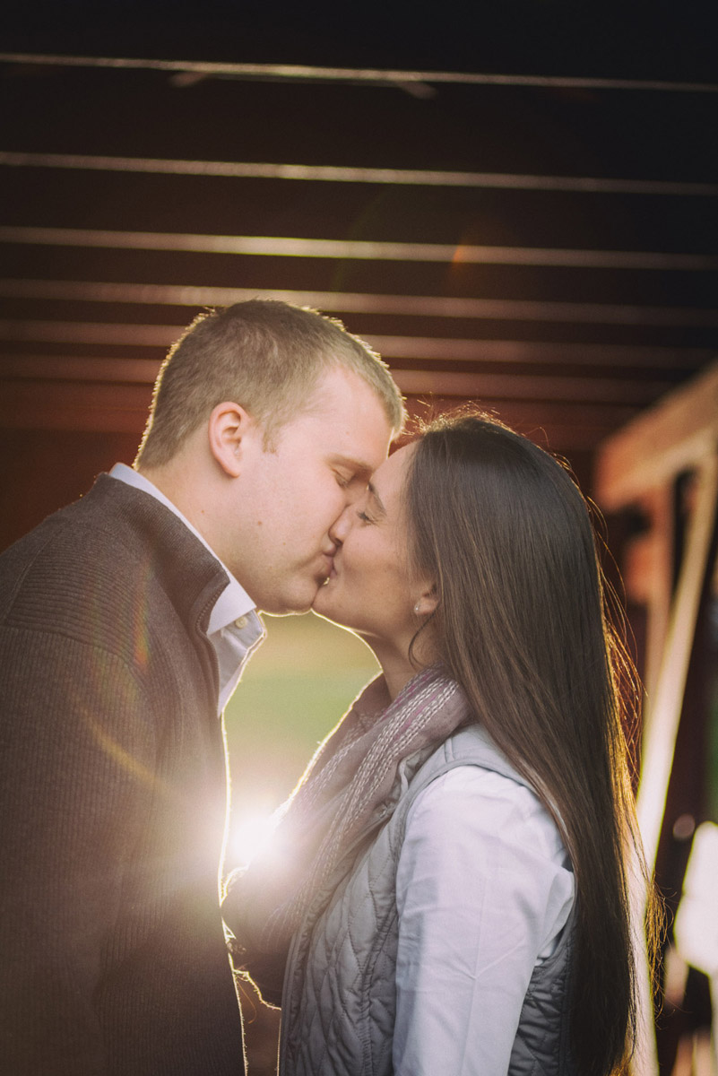 Meghan And Steve Chester County PA Engagement