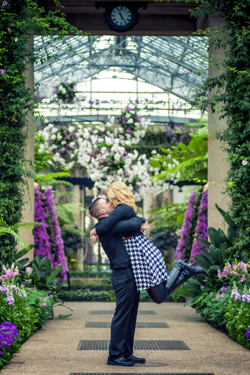 Moonloop Photography Delaware Wedding and Engagement Photographer at Longwood Gardens Kennett PA