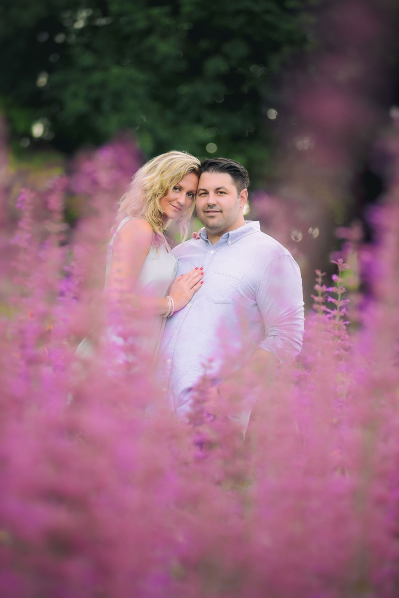 rick laura longwood gardens kennett square pa engagement photography