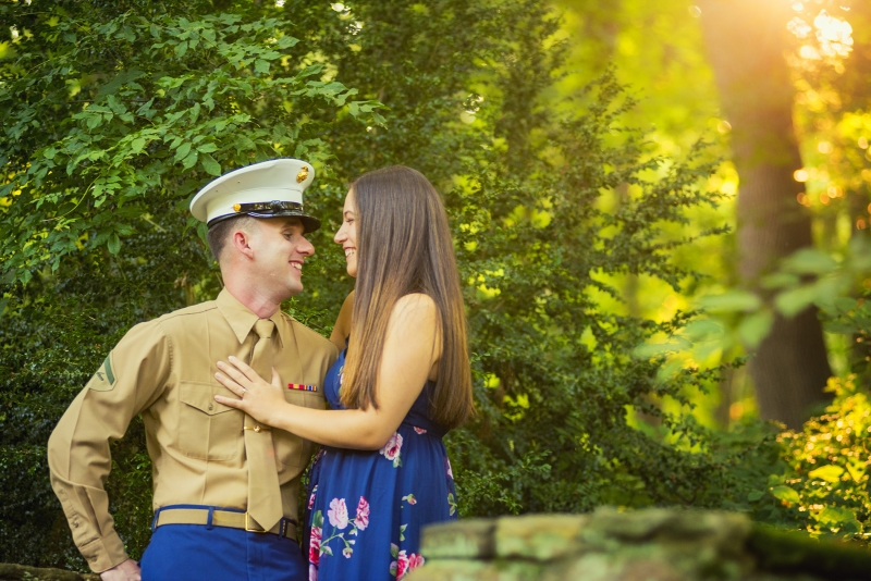 ridley creek p engagement photographers