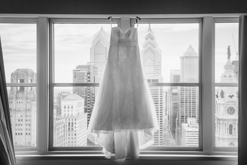 Loews Philadelphia Pennsylvania Wedding Preperations
