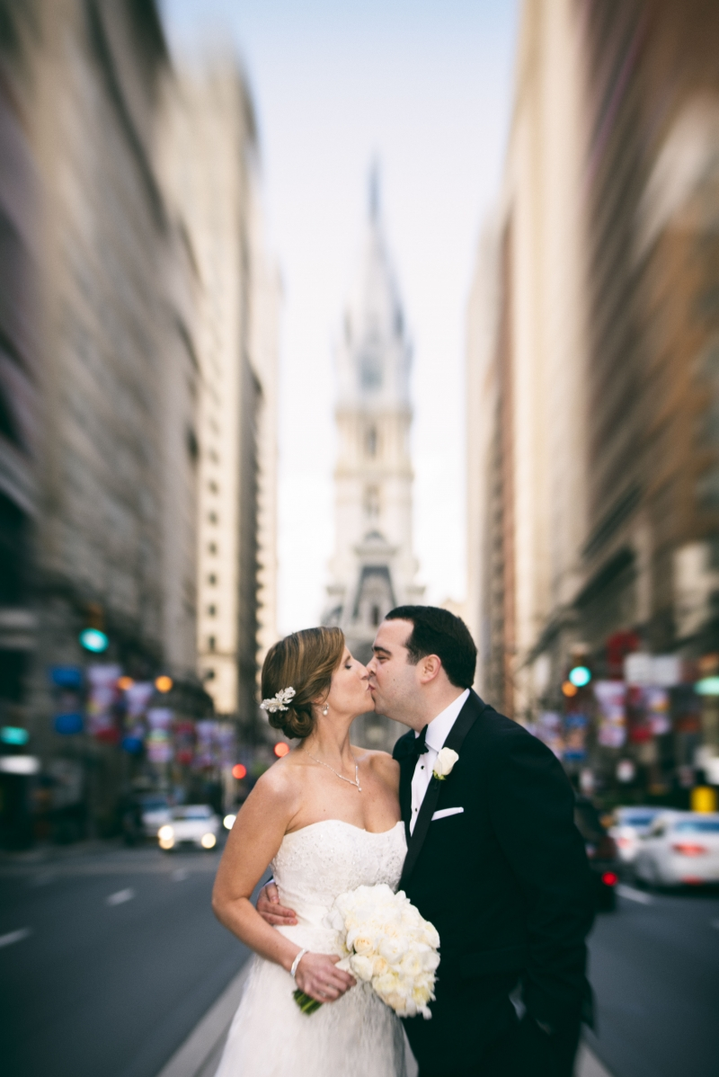 Center City Philadelphia Wedding Photographers