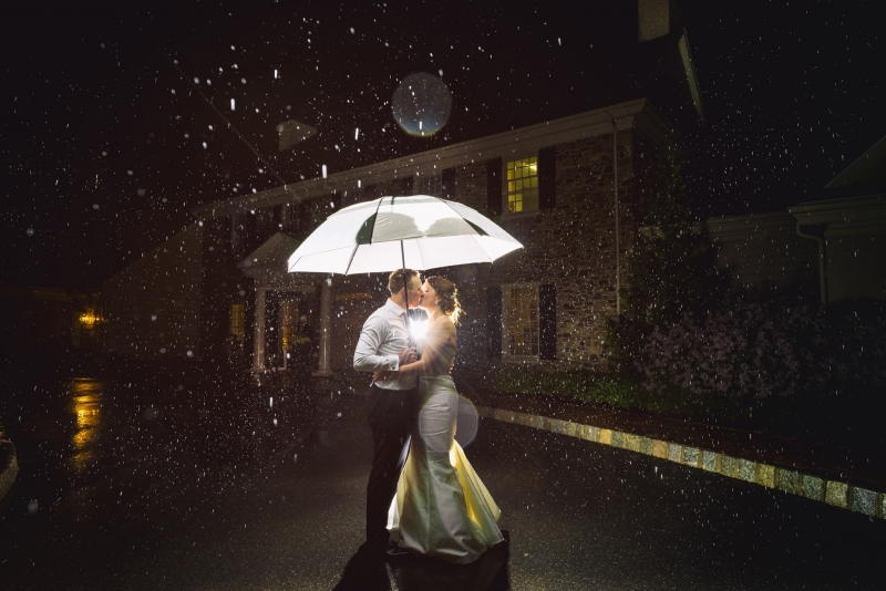 French Creek Country Club Pennsylvania Rainy Day Wedding