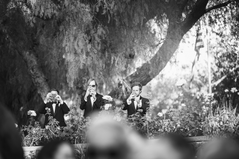 Juli and Rob Richard Nixon Library Museum Wedding in Los Angeles California