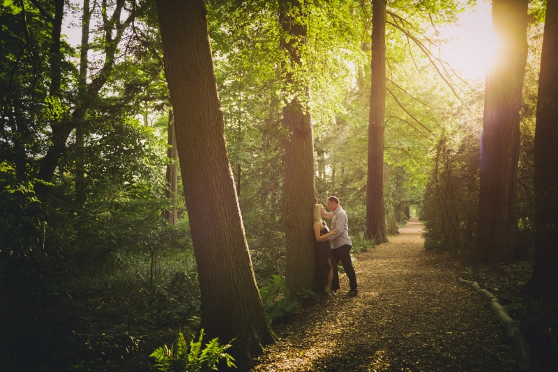 Katie and Stephen Longwood Gardens Engagement