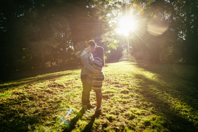 Paola and Gabe Longwood Gardens Engagement Photography