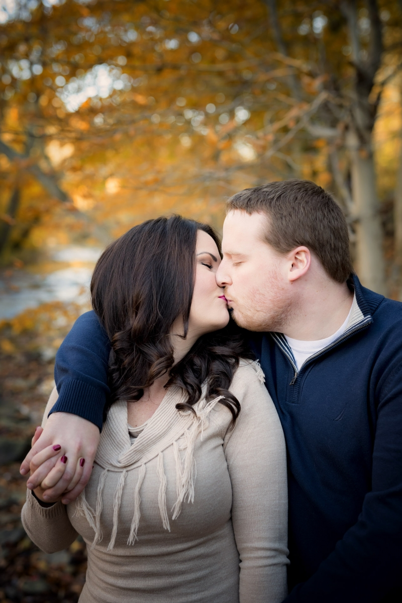 Ridley Creek Engagement of Ashley and Greg