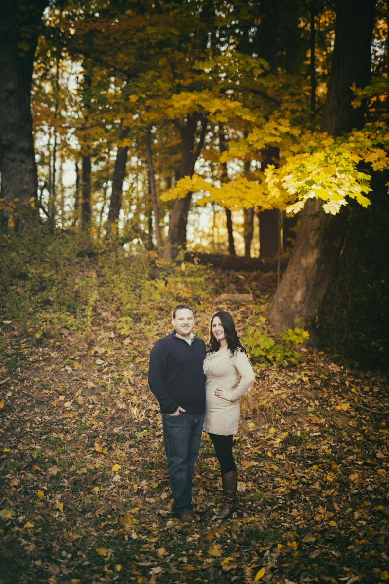 Ridley Creek Engagement of Ashley and Greg Ridley Creek State Park Pennsylvania