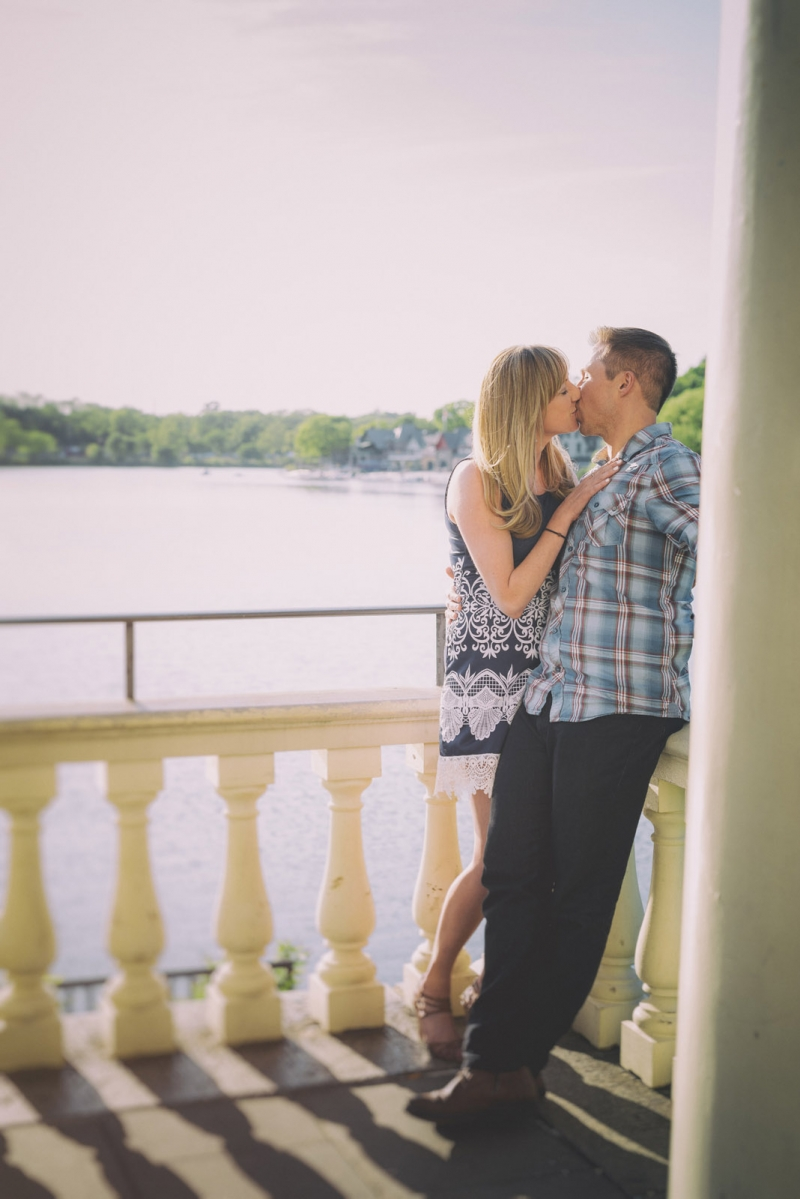 The Fairmount Park Philadelphia engagement of Jessie and Matt