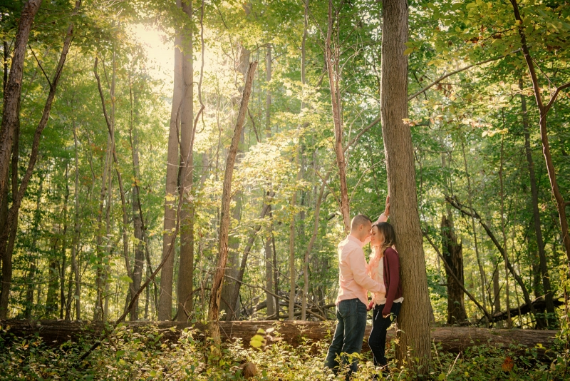 The Baltimore Maryland State Park Engagement of Jenna and Jacob