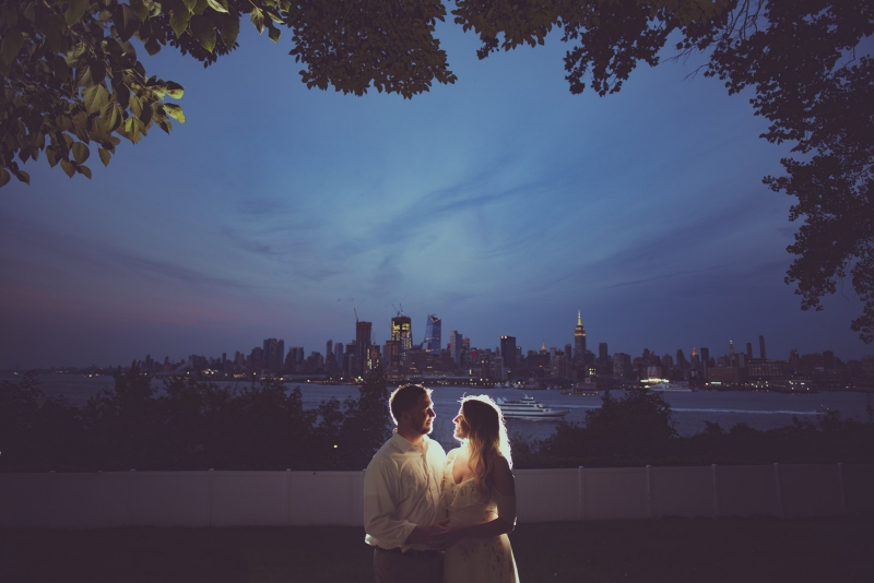 The Hoboken New Jersey Engagement of Stefanie and Prem