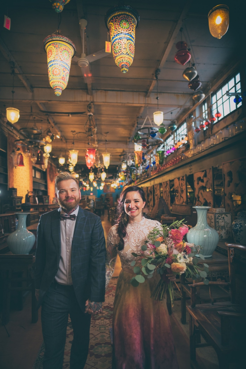 Chelsea and Matt Material Culture Wedding Philadelphia PA