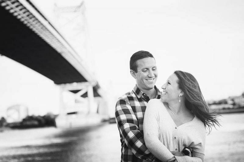 Katie and Bryan Philadelphia Engagement