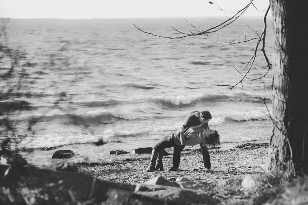 Laura and Sean Turkey Point Chesapeake Bay Engagement