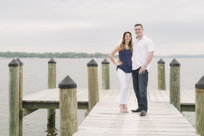 Sabrina Jason Bohemia River Engagement Maryland
