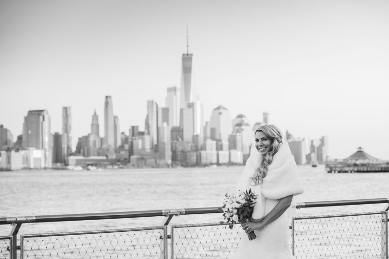 Stefanie and Prem Hoboken W Hotel Wedding