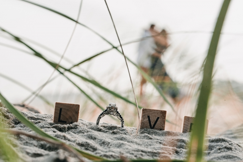 Cape May New Jersey Engagement by Justin Heyes
