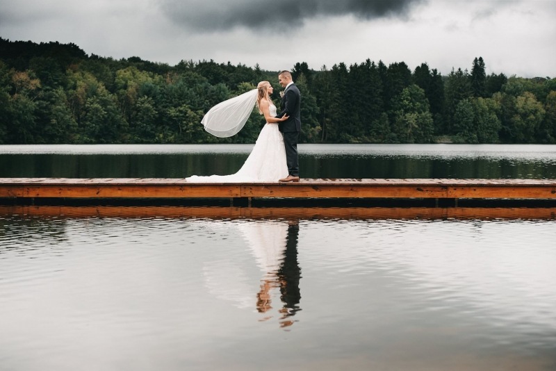 Trout Lake Pennsylvania Wedding by Justin Heyes
