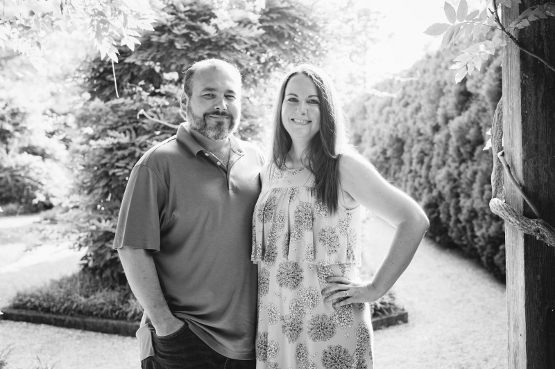 Beth & Michael Longwood Gardens Engagement