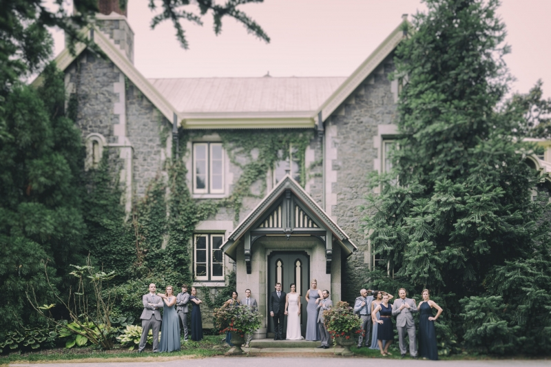 Laura & Sean Rockwood Carriage House Wedding