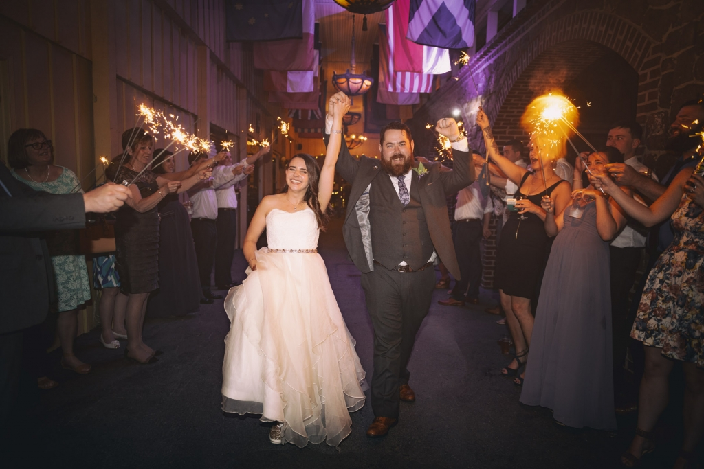 Michelle & Jim Stoudts Brewery Wedding