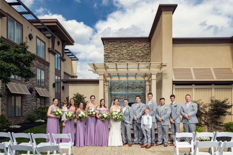 Valerie & Erik Eden Resort Lancaster Wedding