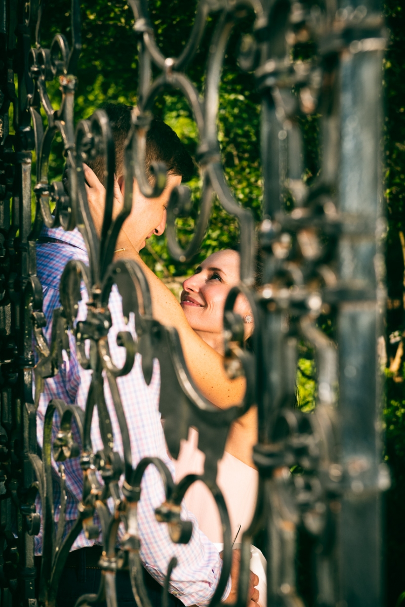 Gibraltar Gardens Engagement of Jenny and Chris