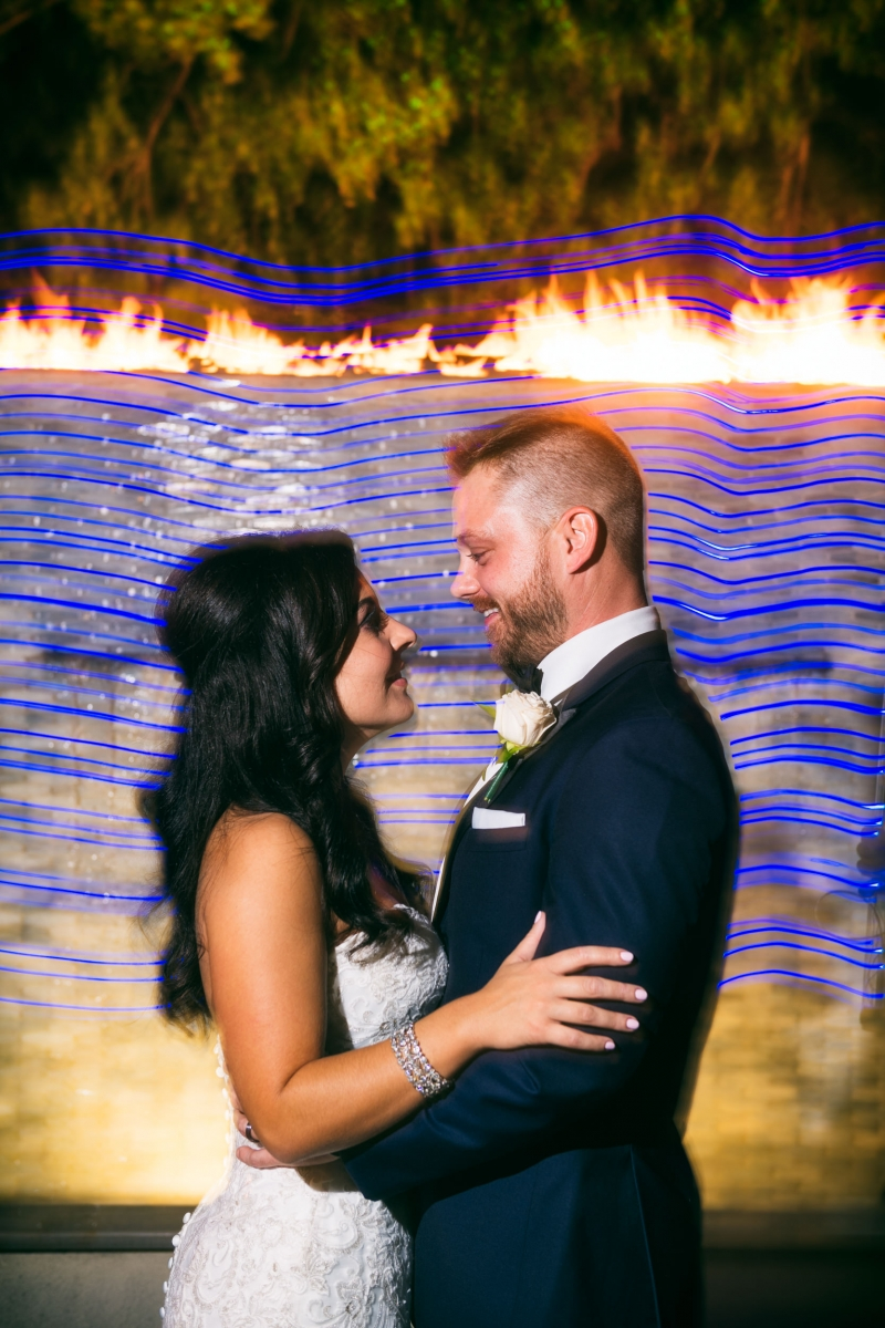 The Waterfall Wedding of Brittany and Sean Wilmington Delaware