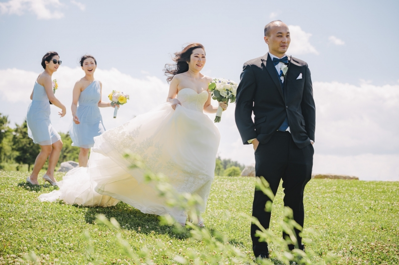 Xiaona and Mike Blue Mountain Resort Wedding