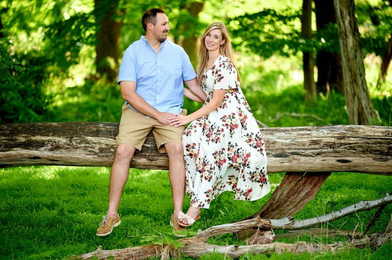 The Jockey Hollow Engagement of Grace and John