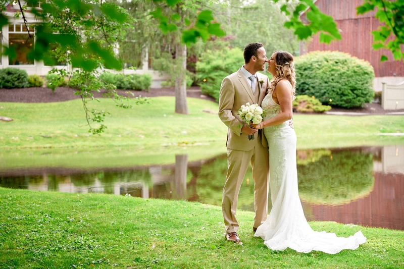 Jamie and Seth's Lodge at Mountain Springs Lake Resort Wedding