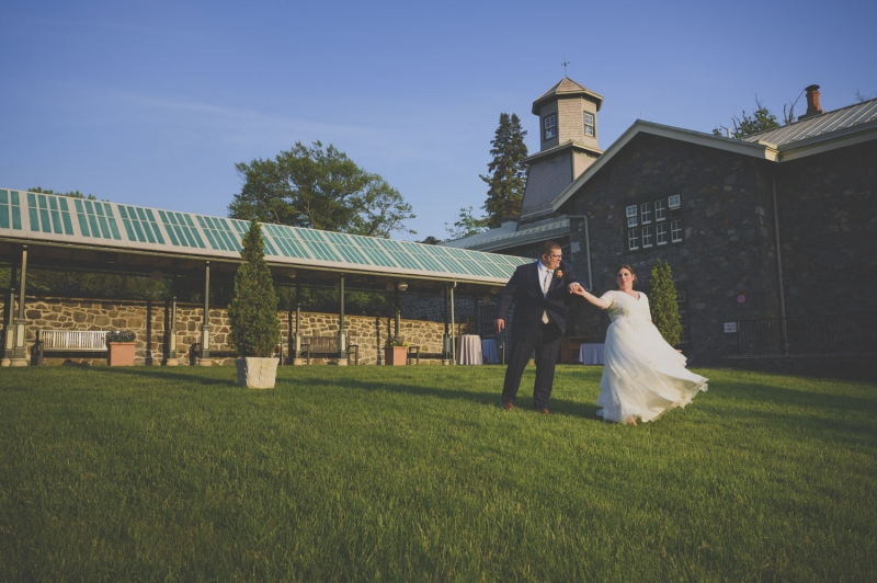 The Rockwood Carriage House Wedding of Maggie and James
