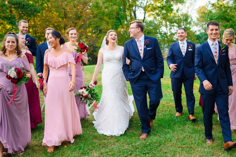 The Chadds Ford Pennsylvania Wedding of Lauren and Eric