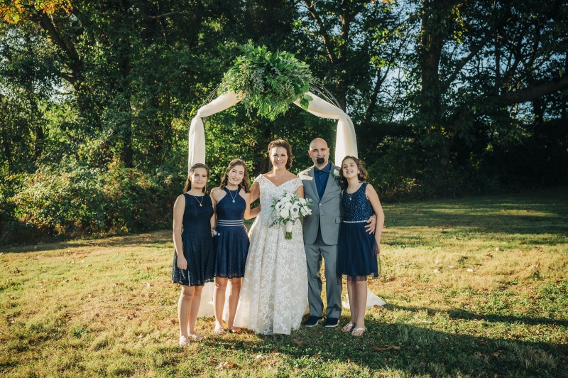 The Chadds Ford PA SIW Vegetable Farm Wedding of Gab and Dan