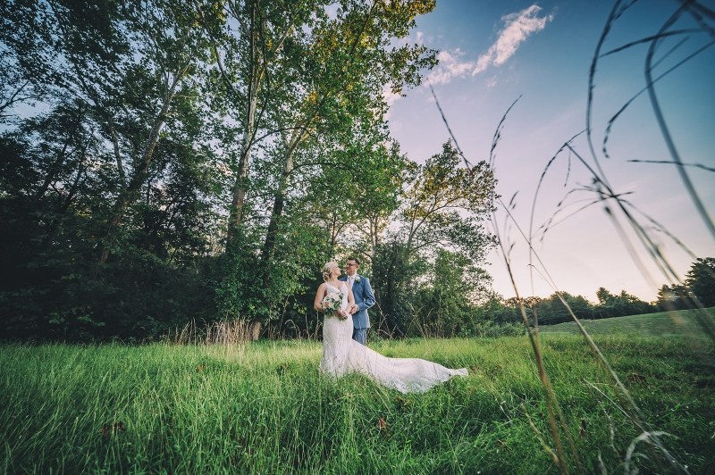 Nicole and Brian Barn on Bridge Collegeville Wedding