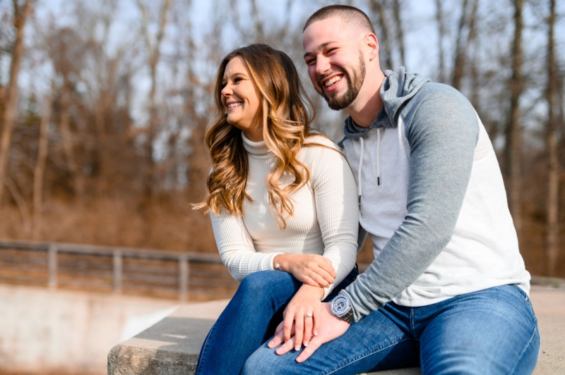 The Engagement of Steven and Samantha at Princeton University