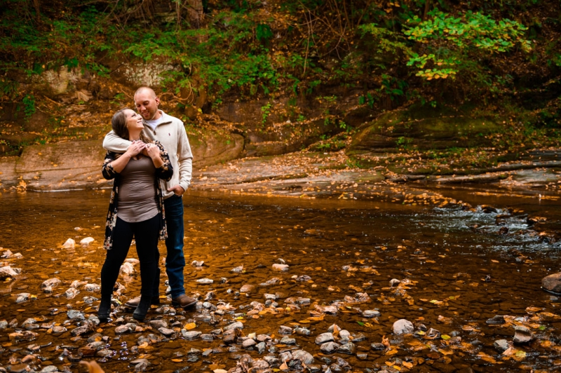 Jacobsburg State Park Engagement of Valerie and Justin
