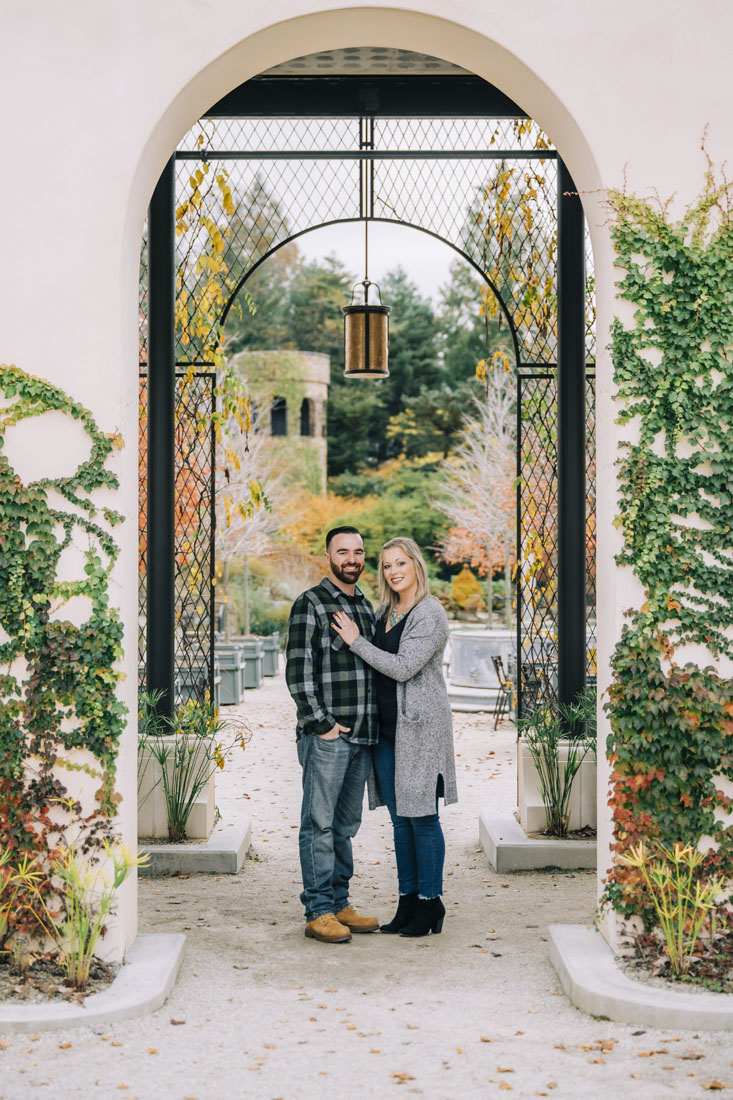 Allison and Joe Longwood Gardens Engagement Session