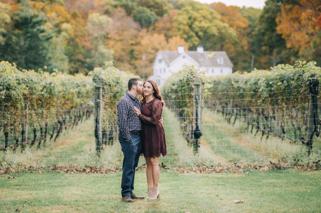 Harmony Vineyards Engagement of Christina and Andrew