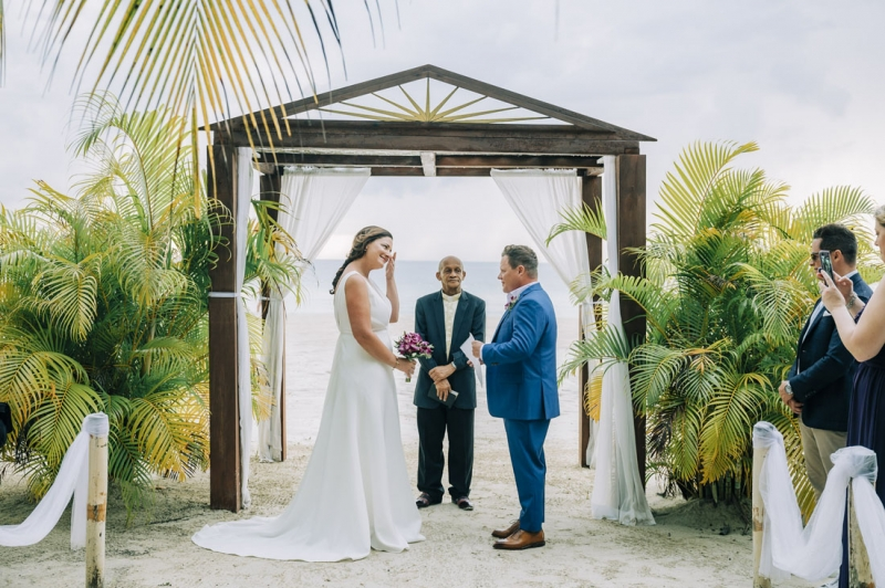 The Couples Swept Away Jamaica Destination Wedding of Danielle and Andrew