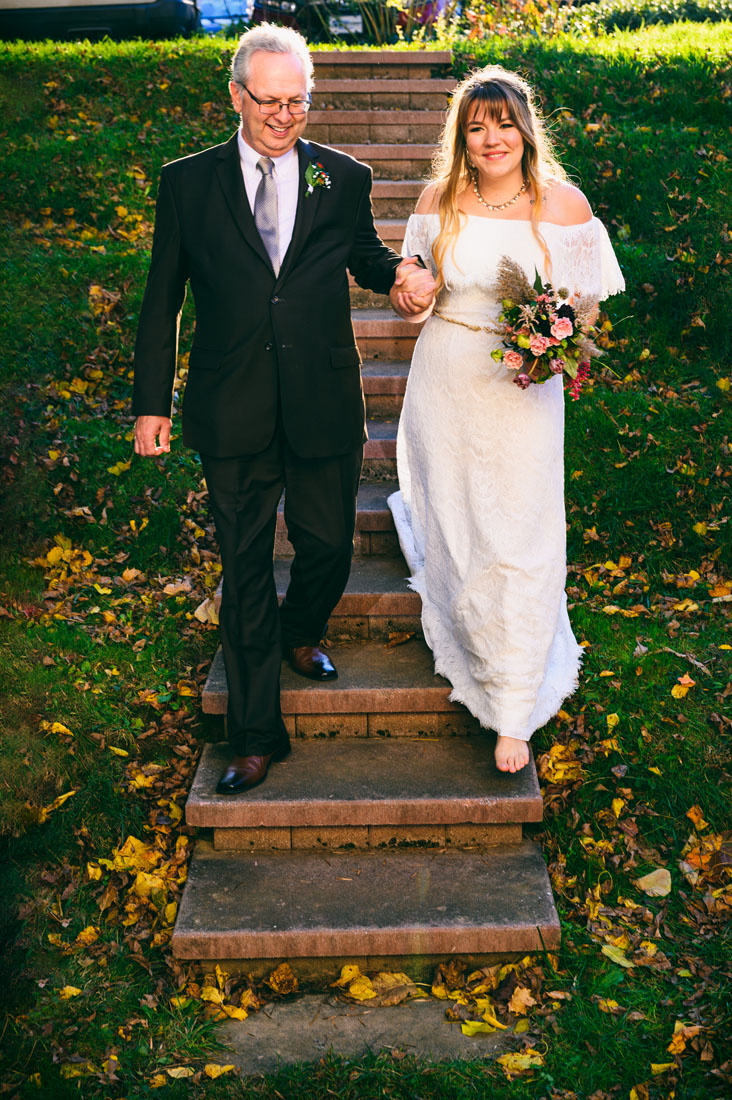 The Arden Gild Hall Fall Wedding of Gill and Chuck