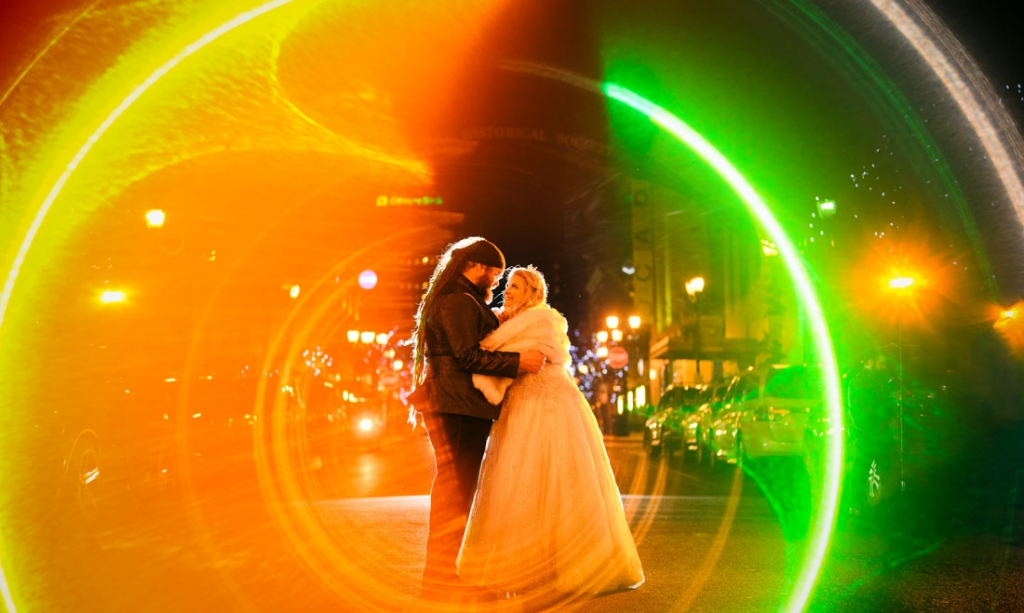 The New Years Wedding of Lindsay & AJ at the Queen Wilmington Delaware