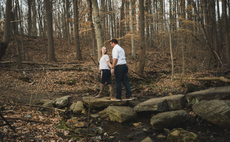 Alapocas Run State Park Engagement of Sara and Patrick