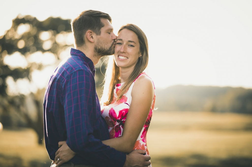 The Engagement of Stephanie an Steven at Delawares Brandywine Creek State